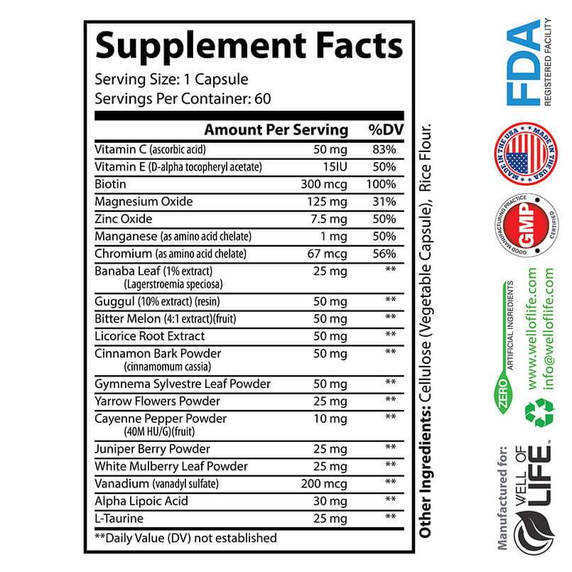 FACTS Blood Sugar Support