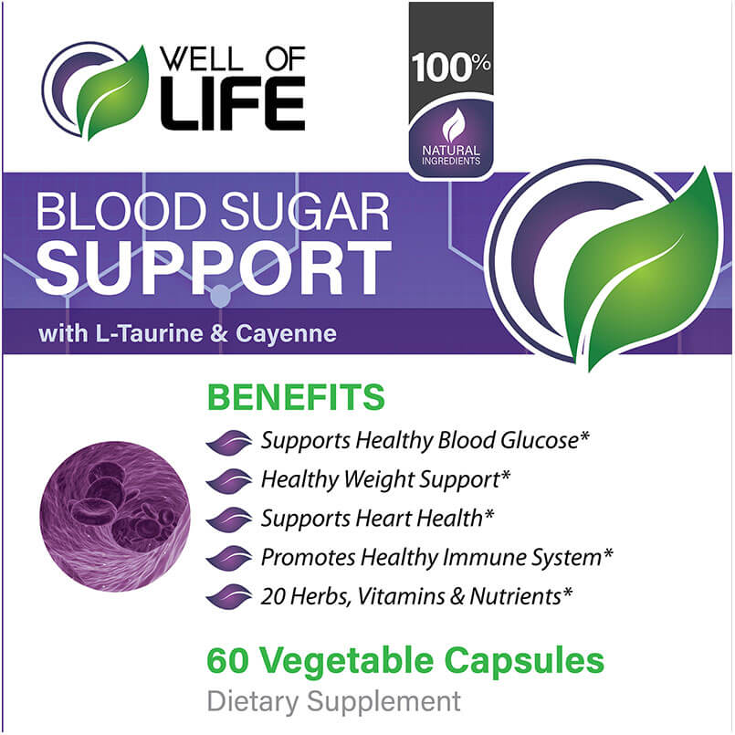 LABEL Blood Sugar Support