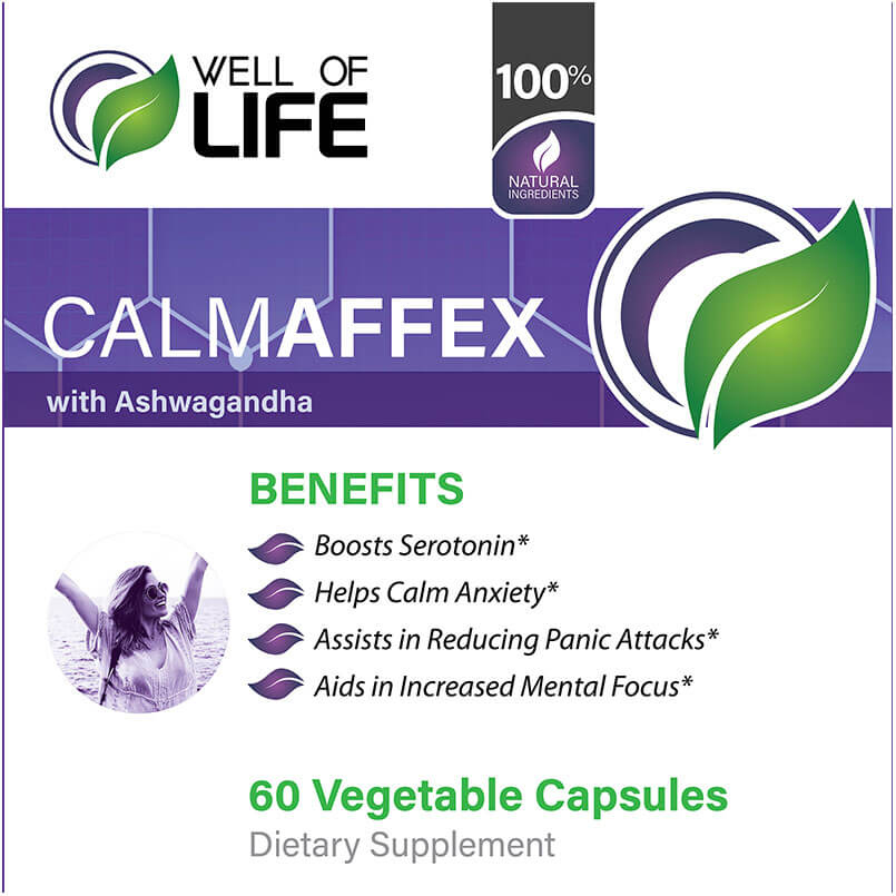 LABEL CalmAffex with Ashwagandha