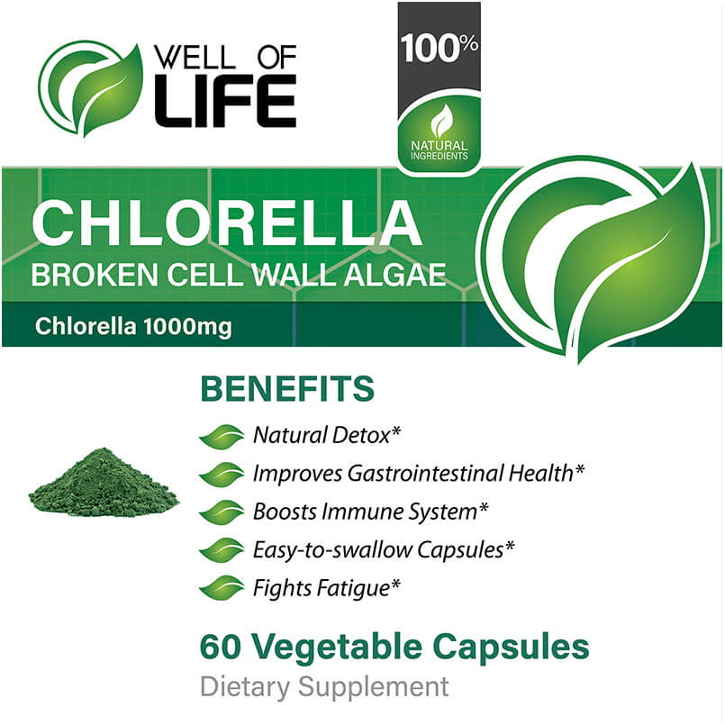 LABEL Chlorella Broken Cell Algae Extract