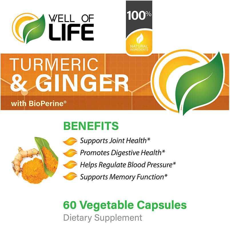 LABEL Turmeric & Ginger with BioPerine®