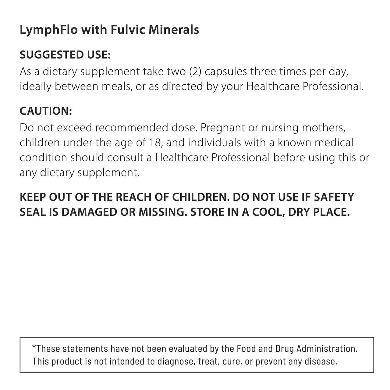 LymphFlo with Fulvic Minerals